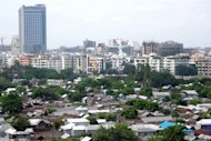 <p>This file photo shows a general view of a residential area in Dhaka, pictured in August. The World Bank said on Thursday that it could reconsider its decision to cancel a $1.2 billion loan to Bangladesh for a major road and rail bridge, but only if authorities keep pledges to fight corruption.</p>