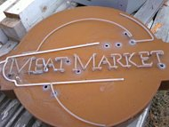 meat market sign