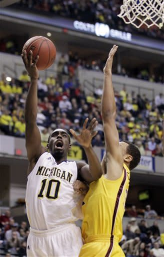 Michigan tops Minnesota 73-69 in OT in Big Ten