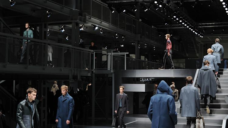 Fendi - Milan Fashion Week Menswear Autumn/Winter 2013