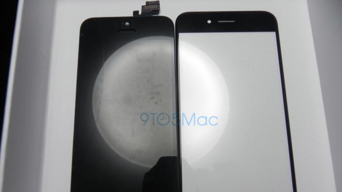 Huge leak shows the iPhone 6's curved glass screen for the first time