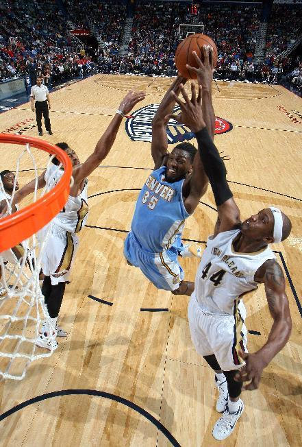 Denver snaps 7-game skid with 93-85 win over Pelicans