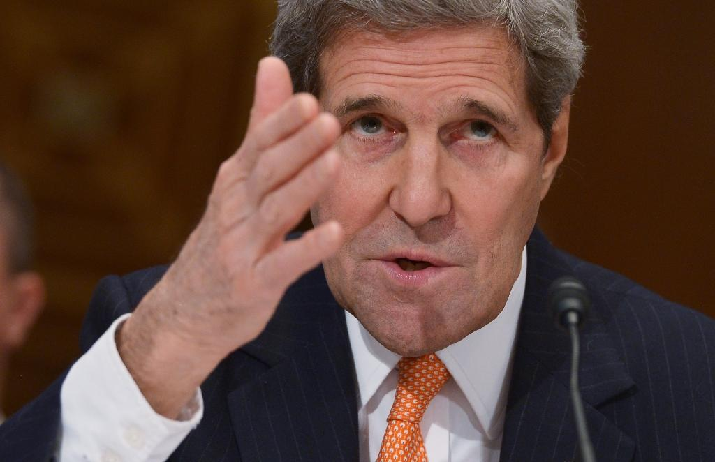 Kerry to address UN rights council in Geneva Monday: UN