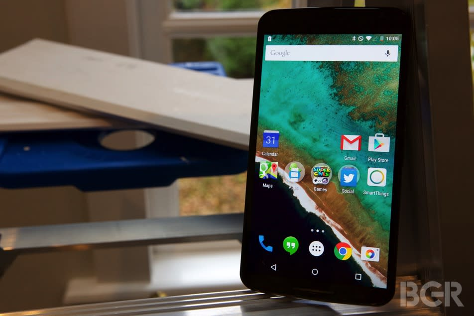 Verizon Nexus 6 is all but confirmed for launch