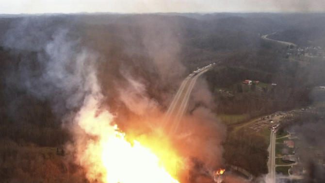 Interstate 77 reopens after W.Va. gas inferno