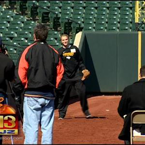 Orioles Hold Open Tryouts To Find Ballboys And Ballgirls