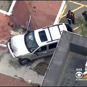 Several People Injured After Police Chase Ends In Crash In Newark