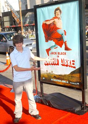Devon Werkheiser at the Hollywood premiere of Paramount Pictures' Nacho Libre