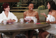 Sharon Osbourne, Aisha Tyler, Julie Chen | Photo Credits: Cliff Lipson/CBS