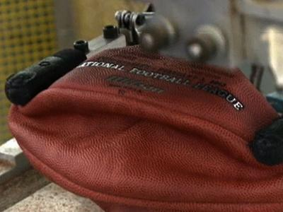 Raw: Wilson Workers Make Super Bowl Balls
