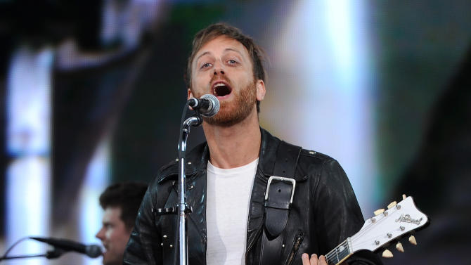FILE - In this Sept. 29, 2012 file photo, guitarist Dan Auerbach of The Black Keys performs at the Global Citizen Festival in New York's Central Park. At the Austin City Limits Music Festival, about a third of the nearly 130 bands on a lineup that includes the Red Hot Chili Peppers, the Black Keys and Jack White will have their sets broadcast on YouTube. That's a record for the three-day festival that starts Friday, Oct. 12, 2012.  (Photo by Evan Agostini/Invision/AP, File)