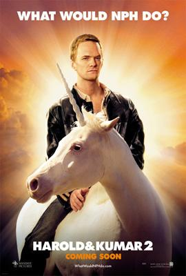 Neil Patrick Harris stars in New Line Cinema's Harold and Kumar Escape From Guantanamo Bay
