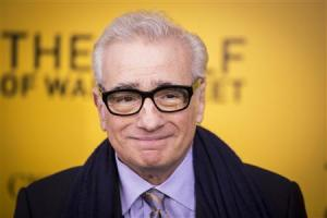 """Director Scorsese arrives for the premiere of the film adaptation of """"The Wolf of Wall Street"""" in New York"""