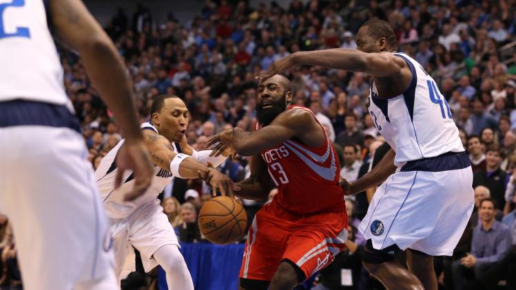 NBA: Houston Rockets at Dallas Mavericks