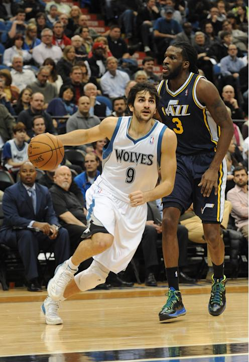 NBA: Utah Jazz at Minnesota Timberwolves