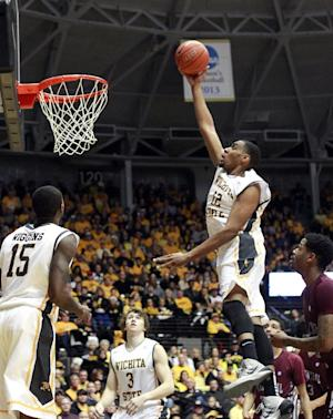 No. 11 Wichita State holds off NC Central 77-66