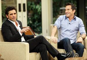 John Stamos and Jeff Probst | Photo Credits: Monty Brinton/CBS