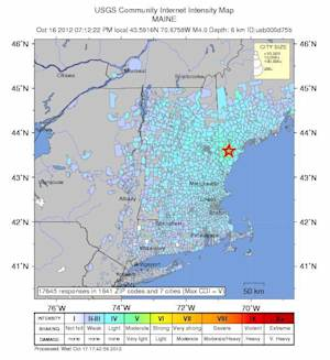 The Facts Behind the Maine Earthquake