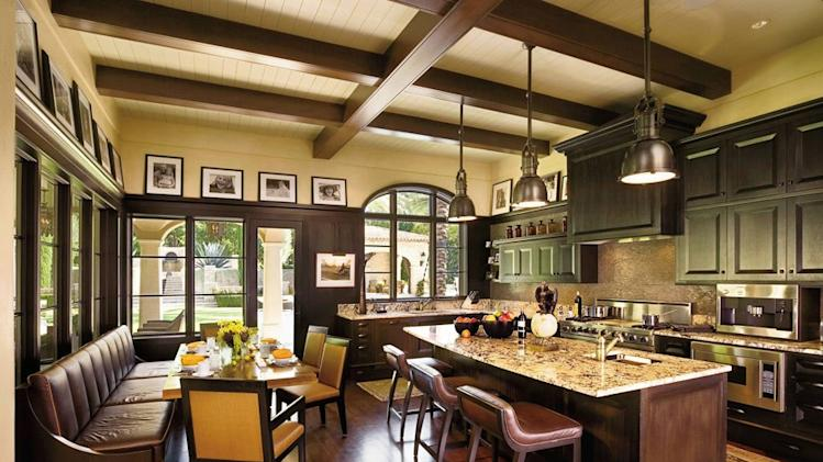 Celebrity kitchens from Architectural Digest lance armstrong