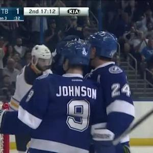 Ryan Callahan Goal on Anders Lindback (02:48/2nd)