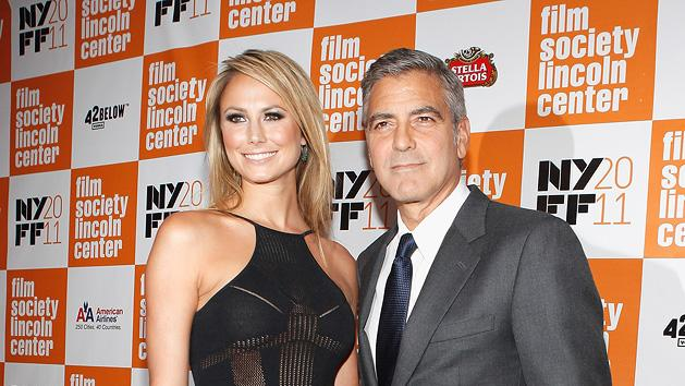 The Descendants 2011 New York Film Festival Stacy Keibler George Clooney