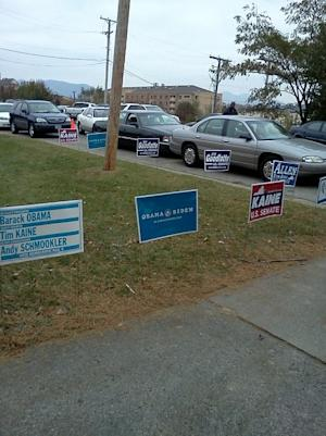 Photos: Election Day in Roanoke, Va.