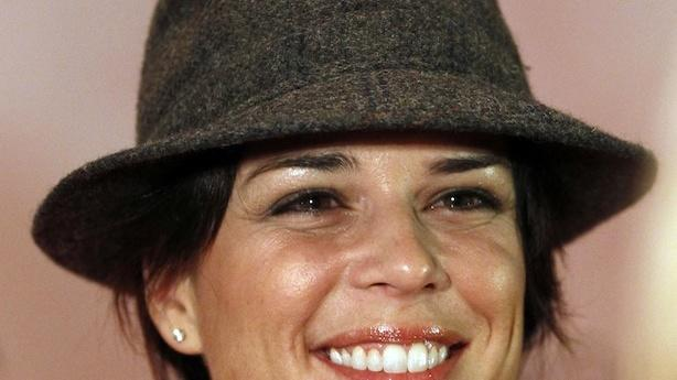 Neve Campbell Heads to Amish Country