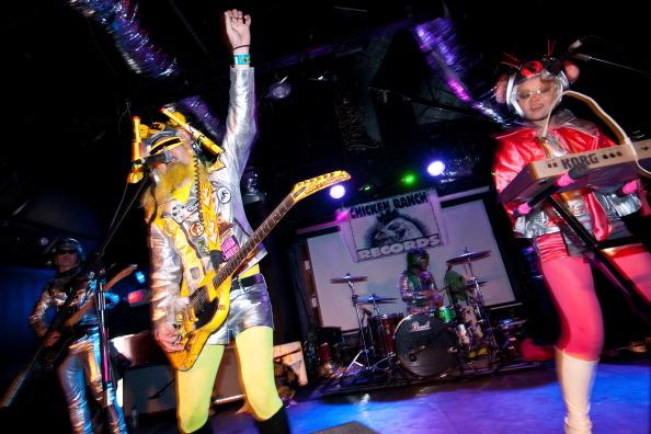 AUSTIN, TX - MARCH 14: Peelander-Z perform on March 14, 2012 in Austin, Texas.