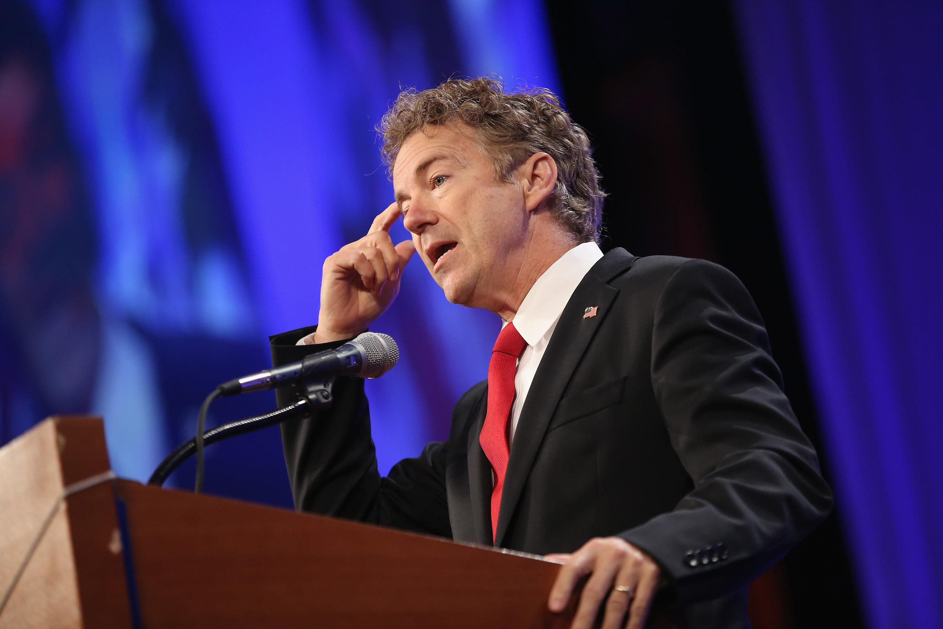 "Rand Paul: ""ISIS exists...because of hawks in our party"""