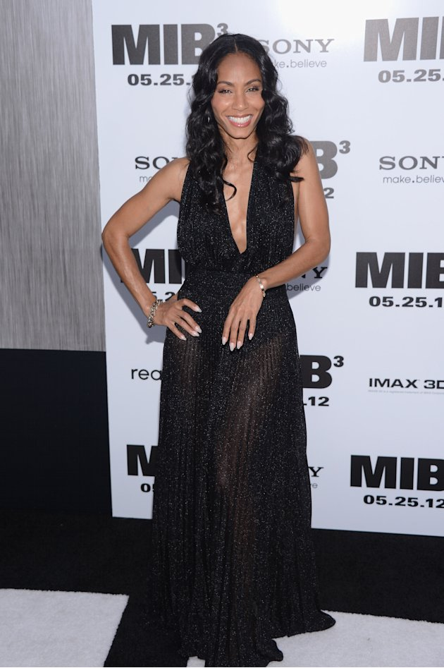Jada Pinkett Smith at the MIB 3 NY premiere