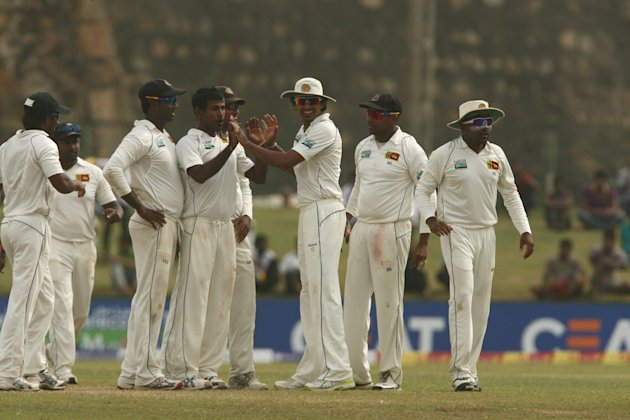 Sri Lanka v Pakistan First Test - Day Four