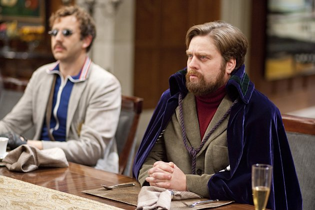 Dinner for Schmucks Paramount Pictures 2010 Zach Galifianakis Christopher O Dowd