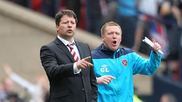 Gary Locke is only focused on turning around Hearts' fortunes