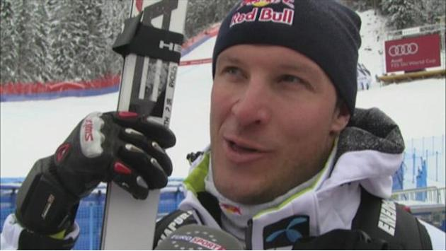 Alpine Skiing - Svindal looks forward to Wengen