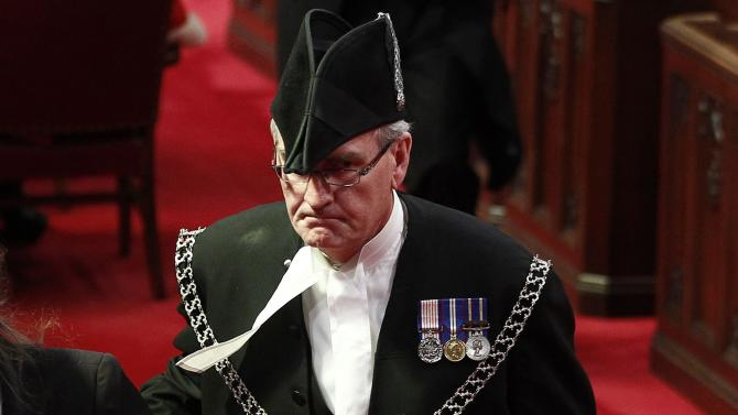 Sergeant-at-arms hailed as hero