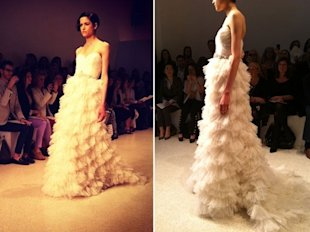 The Rio: How incredible is that tiered tulle skirt?