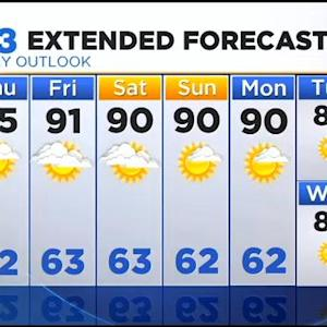 Noon Forecast - 8/28/14