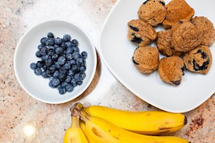 Blueberry Banana Muffin Recipe