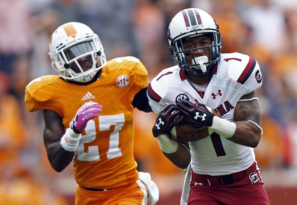 Vols top No. 11 South Carolina 23-21 on final play