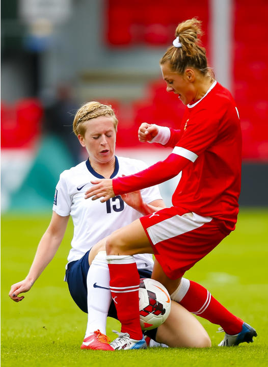 Soccer - FIFA Womens World Cup 2015 -Group 6 Qualifier - England Women v Belarus Women - Dean Court