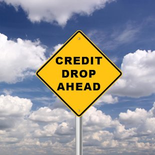Warning! Credit Score Drop Ahead