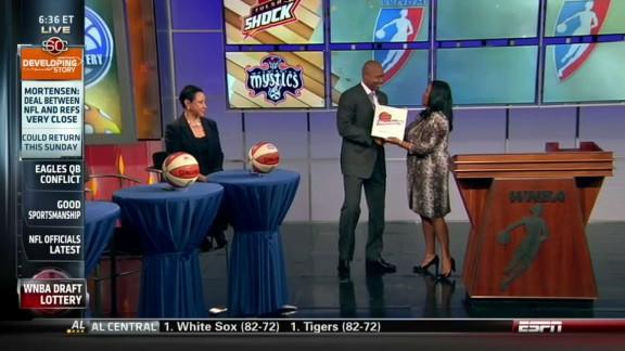 2013 WNBA Draft Lottery