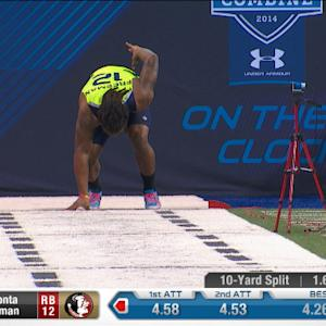 2014 Combine workout: Devonta Freeman