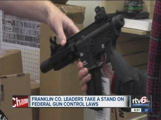 """Ind. county fights federal gun control measures with """"Second Amendment Preservation Act"""""""