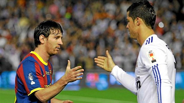 FOOTBALL 2012 Real-Barcelone (Messi et Ronaldo)