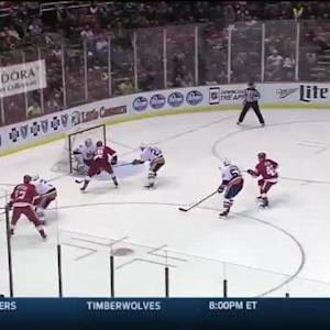 Chad Johnson Save on Riley Sheahan (08:47/3rd)