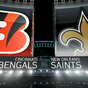 'Inside the NFL': Cincinnati Bengals vs. New Orleans Saints highlights