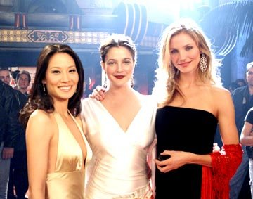 Lucy Liu , Drew Barrymore and Cameron Diaz in Columbia's Charlie's Angels: Full Throttle