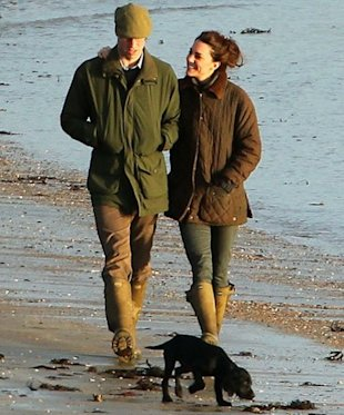 Kate Will and Lupo: one big happy family. (US Weekly)