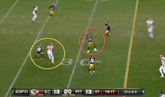 MNF: What happened on the Steelers' overtime INT?